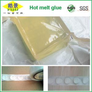 Wholesale Removable Hot Melt Spot Polyester Hot Melt Glue Pellets Transparent Glue Block from china suppliers