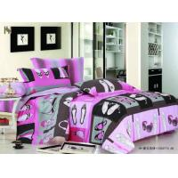 Buy cheap Personalized 100 % Cotton Designer Full Queen Size Printed Girls Kids Bed Sheet Sets from wholesalers