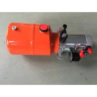 Wholesale Orange 6L Steel Tank DC Compact Hydraulic Power Unit for Dump Trailer from china suppliers