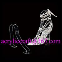 Wholesale Factory wholesale acrylic shoe rack / plexiglass shoe display holder from china suppliers