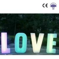 Wholesale large hollow plastic Long life romantic park ROTOMOLDING plastic lamps from china suppliers