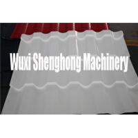 Wholesale Stand Seam White Glazed Roof  Roll Forming Machine / Fancy Encaustic Tile Forming Mill from china suppliers