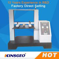 Wholesale 0.5~500mm 5T Computer Container Carton Compression Pressure Testing Equipment 1/250000 Resolution from china suppliers