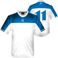 Wholesale White Custom Made Sublimated Soccer Jersey, Breathable Football Sportswear Shirts from china suppliers