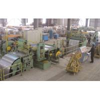 Wholesale Sheet Slitting Machine , Metal Slitter Machine For Construction from china suppliers