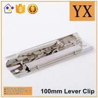 Wholesale China Supplier Nickel Metal lever clips high quality lever arch clip from china suppliers