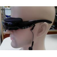 Quality Comfortable Analog Virtual Display Video Glasses With Stereo Earphones For MP5 Player for sale