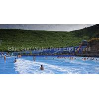 Quality China Guangxi  30,000 Fiberglass  Water Slide / Wave Pool  / Family Water Playground Water Park for sale