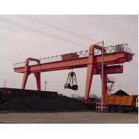 Wholesale Double Girder Rail Mounted MZ model gantry crane with grab from china suppliers