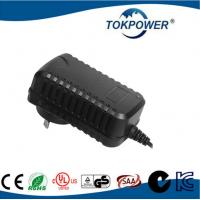 Wholesale Black Lightweight Wall Mount AC DC Power Adapter 9w With Ul IEC / EN 60601 from china suppliers