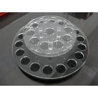 Wholesale Round acrylic lipstick display holder with holes / acrylic display shelves from china suppliers