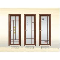 China 1.4 mm Clear Glass Interior Aluminium Casement Door With Grill Design on sale