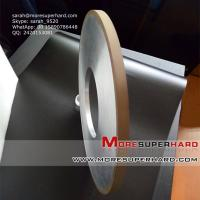 Wholesale resin hybrid spral grinding wheel for sharping polishing blades   sarah@moresuperhard.com from china suppliers