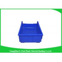 Wholesale Shelf Wall Mounted Industrial Plastic Storage Boxes , Heavy Duty Plastic Stackable Bins from china suppliers