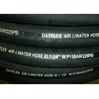 "Wholesale Black Heavy Duty Air Hose ID 1"" To 2"" , High Pressure Hose Cloth Wrapped Surface from china suppliers"