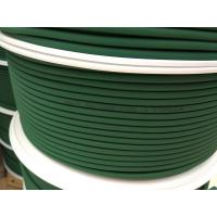 Wholesale Green Polyurethane Round Belt Low Compression Set For Floor / Roof Tiles Conveying from china suppliers