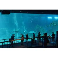 Wholesale Huge oceanarium / aquarium acrylic tunnels , flexible PMMA panel from china suppliers