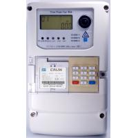 Wholesale Optical RS485 3 Phase Electric Meter 10mm Cable STS Prepayment Meter Keypad Based from china suppliers