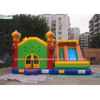 Wholesale Commercial Inflatable Jumping Castles Slide For Family Park Use from china suppliers