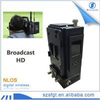 Buy cheap cctv camera broadcast 900mhz COFDM hd sdi video wireless mobile transmitter from wholesalers