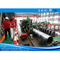 Buy cheap Erw Pipes 304 Stainless Steel Pipe Welding Machine / Welded Tube Mill from wholesalers