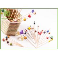Wholesale Food Grade Baby Shower Toothpicks Decorative Skewers For Food Odorless from china suppliers