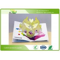 Wholesale Full Color Printing Cardboard Kids Snappy Pop Up Books With Different Styles And Size from china suppliers