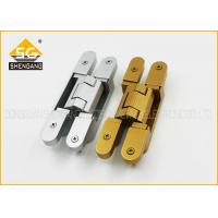 Wholesale 180 Degree 3d Adjustable Invisible Door German Hinges Of GB Zinc Alloy from china suppliers