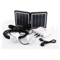 Quality Wholesale factory cheap price Li-ion battery mini system energia solar panel kit for sale