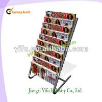 Wholesale floor magzine display stand from china suppliers