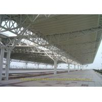 Quality Train Station Prefabricated Steel Structures High Anti Rust Performance for sale