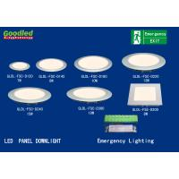 Wholesale 10W Emergency Round LED Ceiling Panel Light / Downlight For Hospital , School from china suppliers