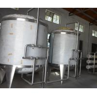 Wholesale Food Industrial Pure Water Treatment Equipment Stainless Steel Water Tanks for Beverage Plant from china suppliers