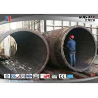 Wholesale Rough Machining Forged Pipe Cylinder  Double Flange Barrel 5000mm 6000T from china suppliers