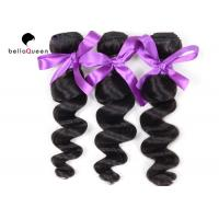 Wholesale Loose Wave Peruvian Hair ,  Virgin Natural Black Hair Extensions Tangle-Free from china suppliers