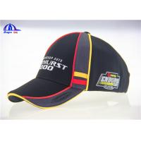 Wholesale Munti- Panel Polyester Embroidered Baseball Caps , Women or Man Large Baseball Hat from china suppliers