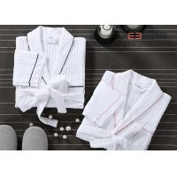 Wholesale Customized Hotel Style Bathrobes Waffle Spa Robes 100% Cotton Material from china suppliers