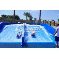 Wholesale Adults Skateboarding Surfing Simulator Fiberglass Water Slide for Summer Entertainment from china suppliers