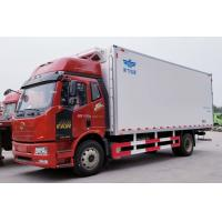 Wholesale Diesel Fuel Type Refrigerated Truck Container Heavy Cargo Truck 4x2 Maximum Speed 96km/H from china suppliers