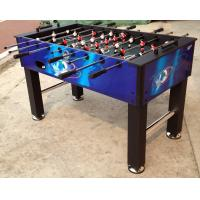 Multicolor 5 Feet Soccer Game Table Comfortable Wooden Foosball Table For Kicker Match
