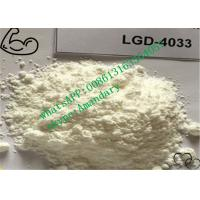 Wholesale Raw SARMs Steroids LGD-4033 Powder CAS 1165910-22-4 for Bodybuilding from china suppliers