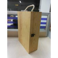 Wholesale Custom Plain Wooden Wine Gift Box Large With Lid 350 X 250 X 100 mm from china suppliers