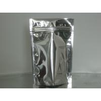 Wholesale Custom Stand Up Metalized Foil Stand Up Pouches With Press / Slider Zipper from china suppliers