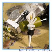 Wholesale CALLA LILY BOTTLE STOPPER from china suppliers