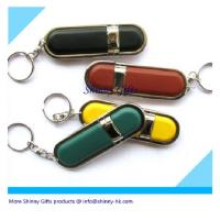 Wholesale leather usb flash disk in different color from china suppliers