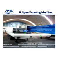 Wholesale K-Span Roll Forming Machine For 0.8-1.5MM Thickness PPGI GI Color Steel from china suppliers