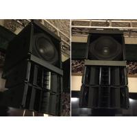 Wholesale Live Concert Sound System Equipment , Pro Speaker System for Professional Singers / Stars from china suppliers