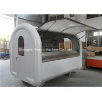 Wholesale Fiberglass Mobile Catering Trailers With Canopy , Food Vending Carts from china suppliers