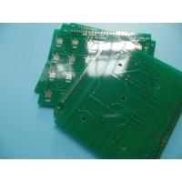 Quality Electrolytic Gold Keypad Hard Gold Double Sided PCB 2 Layer CNC Routing for sale