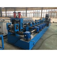 Wholesale 2 - 4mm thickness C Z Purlin Roll Forming Machine with hydraulic Decoiler from china suppliers